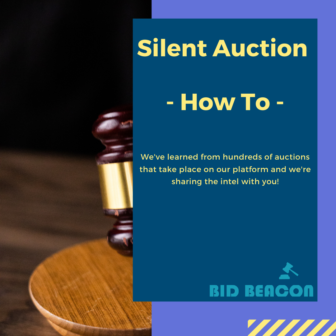 How to Run a Silent Auction